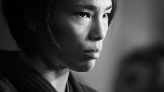"""""""This is a portrait of Olympic and double world champion Kaori Matsumoto. One of the most feared athletes in women's judo, her nickname is the assassin. This is her waiting to come out to fight in the Tokyo Grand Slam final. I love the intensity and the focus this image portrays."""""""