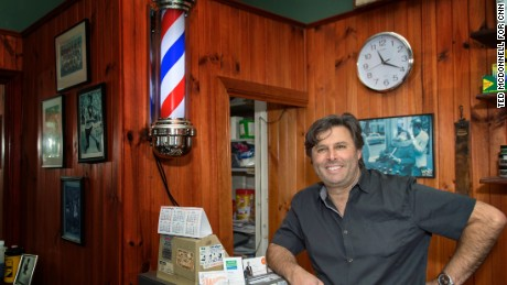 "Port Melbourne barber Tony Codespoti says the majority of his customers say they will vote ""yes"" in the marriage survey."