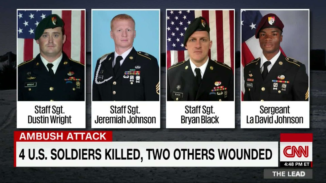 New details on deadly ambush in Niger that left 4 soldiers dead