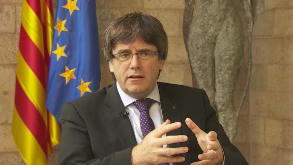 catalan president carles puigdemont to nic robertson no preconditions to negotiate with spain SOT_00001015.jpg