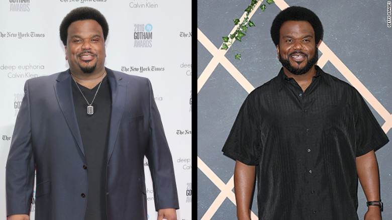 Actor Craig Robinson Said In October That He Lost 50 Lbs By Giving Up Alcohol