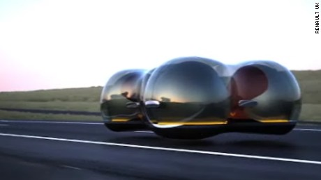 Hovering Concept Car Compeion
