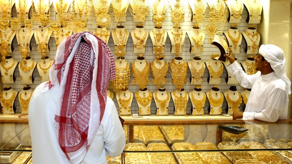 The gold souk is located in Dubai