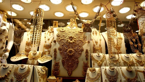 Some estimates suggest that approximately 10 tonnes of gold is present at any given moment in the Dubai Gold Market.