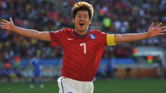 Park has played for Kyoto Purple Sanga, United, PSV Eindhoven and Queens Park Rangers.