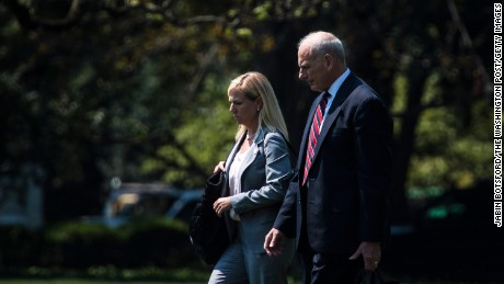 Trump to nominate Kirstjen Nielsen for DHS secretary