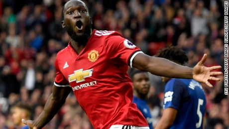 Lukaku signed for Manchester United from Everton for an initial fee of $99 million.