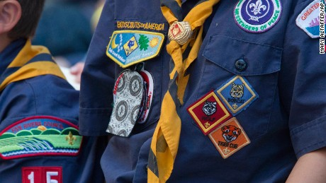 Girls can join Boys Scout of America