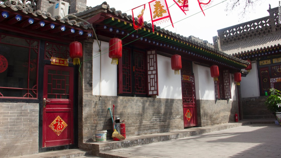 Pingyao has more than 4,000 historic courtyard homes under private ownership. The local government is working with owners to help them fix up the crumbling buildings.