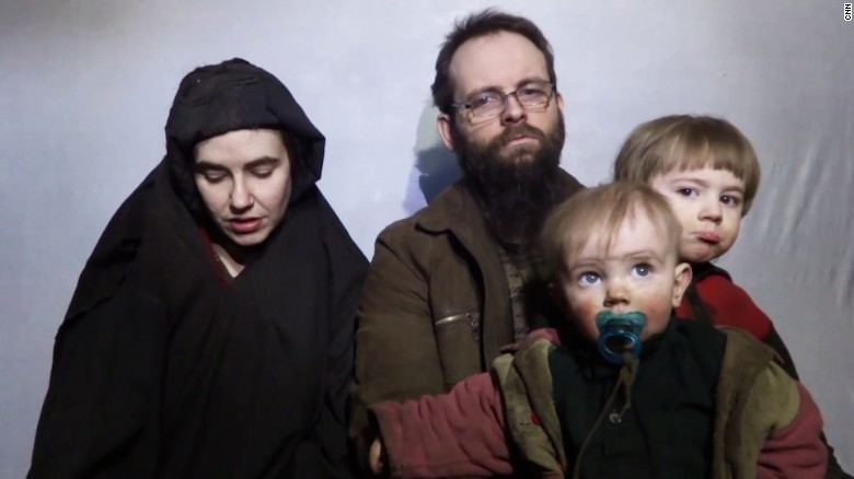 American-Canadian family freed from captivity