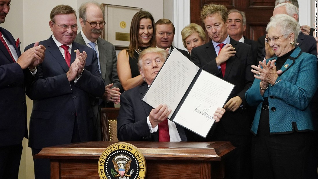 Trump makes it easier for employers to pay workers for health coverage