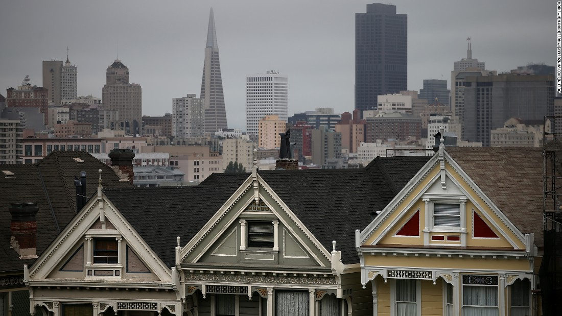 "San Francisco has one of the <a href=""http://edition.cnn.com/style/article/2017-most-expensive-cities-hong-kong/index.html"">most expensive housing markets</a> in the world. Gentrification in certain parts of the city was caused by tech companies setting up shop in the San Francisco Bay Area in the 1990s, during the Dot-Com boom."
