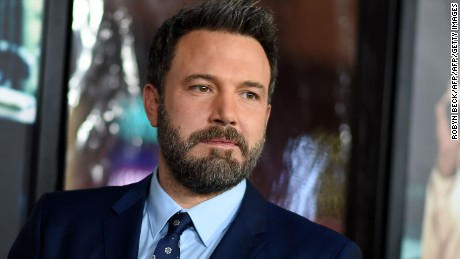 "Actor Ben Affleck arrives for the world premiere of Warner Bros. ""Live By Night,"" January 9, 2017, at the TCL Chinese Theater in Hollywood, California. (ROBYN BECK/AFP/Getty Images)"