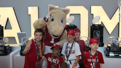 Special Spectators has sent thousands of seriously ill kids to events like this Oklahoma Sooners game