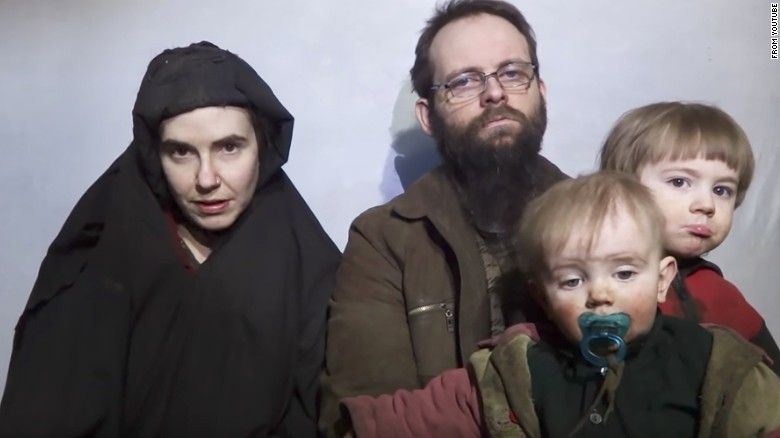 Freed Taliban hostage facing charges in Canada