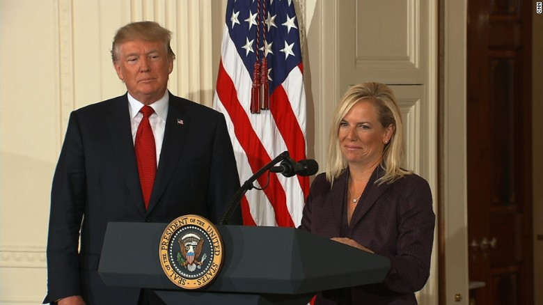 Trump nominates new DHS secretary
