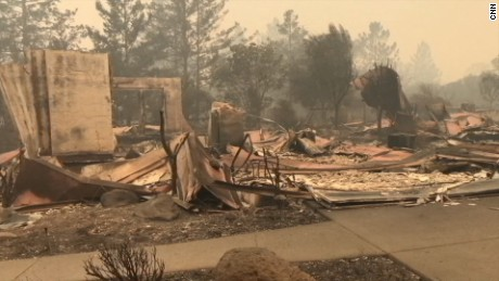 California wildfires scorch area bigger than NYC