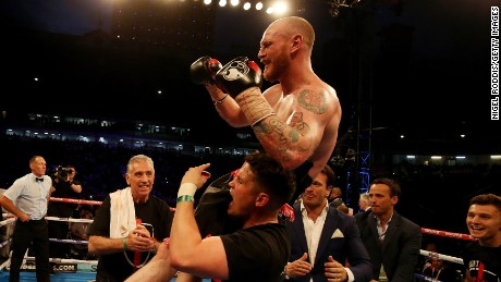 George Groves beat Fedor Chudinov to win WBA Super-Middleweight World title