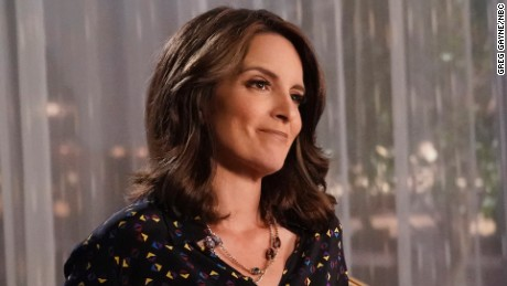 "Tina Fey as Diana on ""Great News."""
