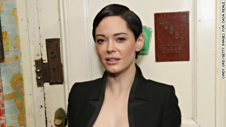 Rose McGowan's powerful voice