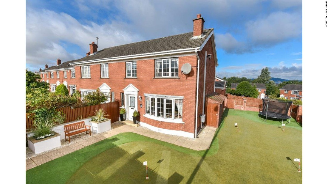 The four-bed property in Holywood, Northern Ireland is on the market for around $320,000.