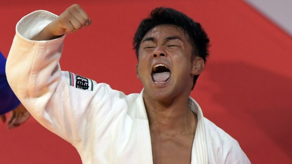 Soichi Hashimoto is a colorful figure in the judo world, aiming to win every contest by ippon.
