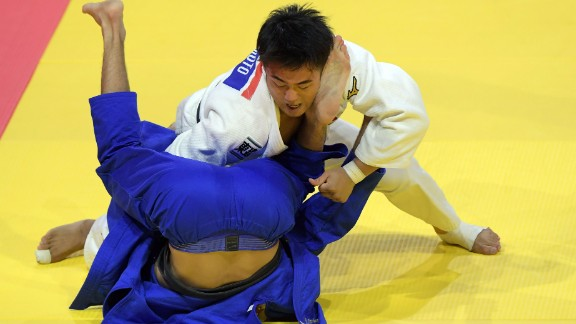 Hashimoto was crowned world champion back in August after beating Azerbaijan's Rustam Orujov in the final.