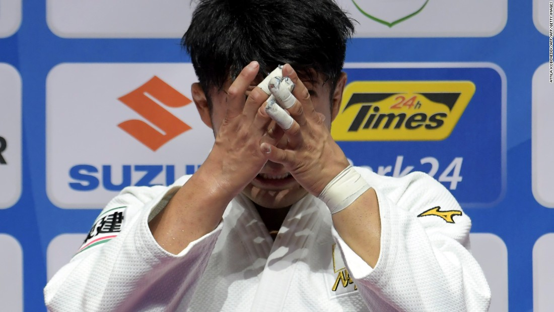 He suffered the heartache of missing out on a place in the Japanese team for the Rio Olympics to Shohei Ono, who won gold.