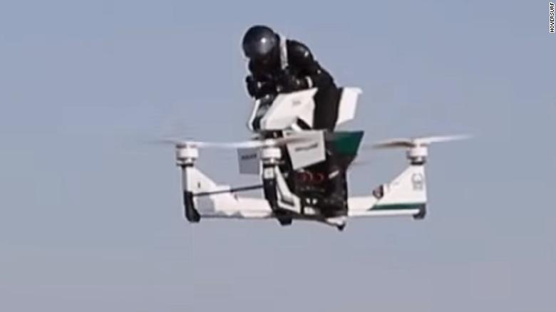 Dubai Police Start Training On Flying Motorbikes Cnn