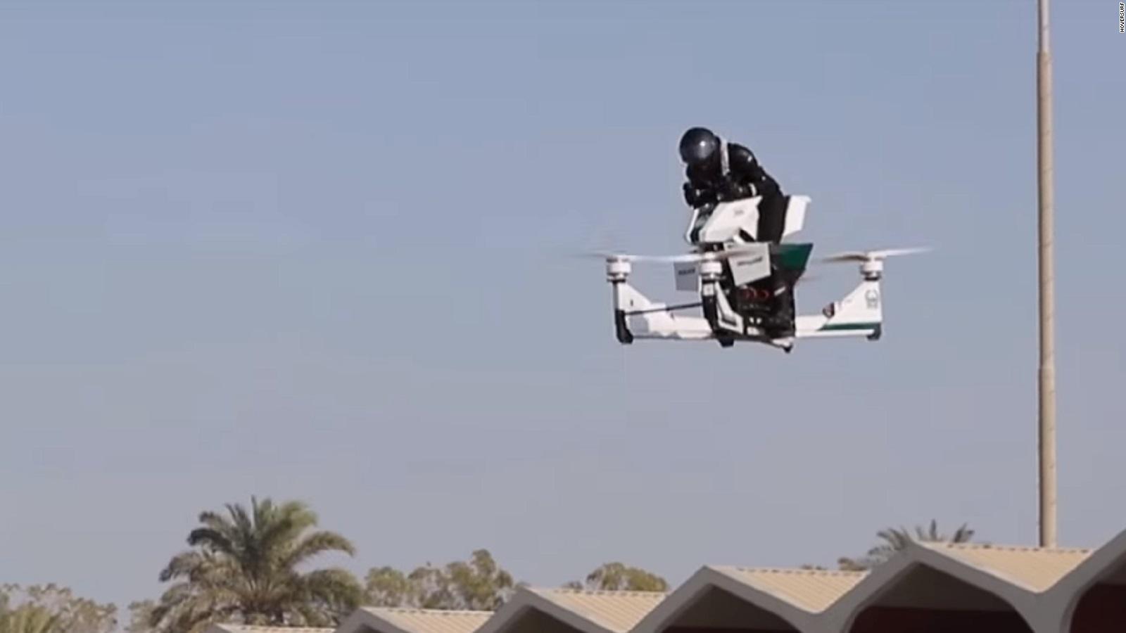 Dubai Police start training on flying motorbikes - CNN