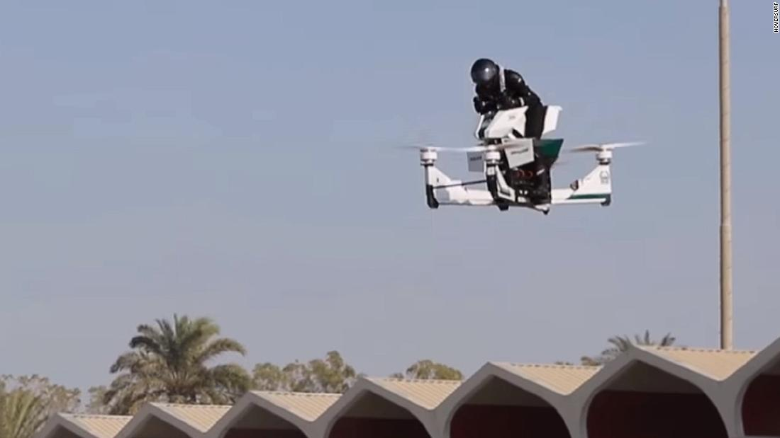 Watch Dubai Police test its latest gadget — a flying motorbike – Trending Stuff