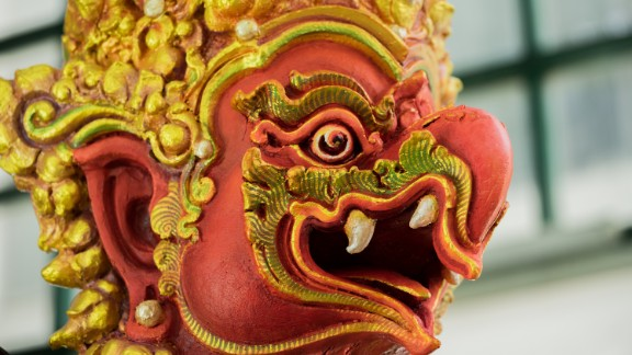 While Thailand is predominantly Buddhist, many elements of the funeral draw on Hindu traditions.