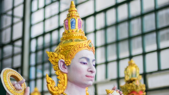 The artworks play an important role of the funeral of King Bhumibol, who possesses god-like status in Thailand. According to religious traditions, the ceremony will see the king complete his journey into the afterlife.