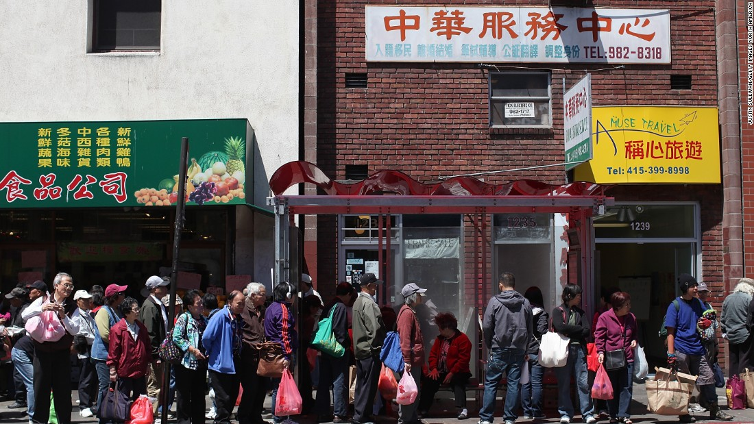 Chinatown is another area that's undergone major gentrification in San Francisco -- which has left residents fearful of eviction.