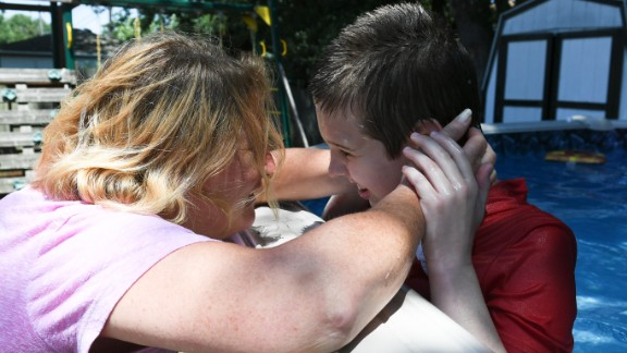 Debbie Cordone says her son, James, benefited tremendously from intensive behavioral therapy.