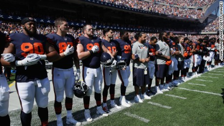 Kneeling isn't about patriotism -- it's a distress signal
