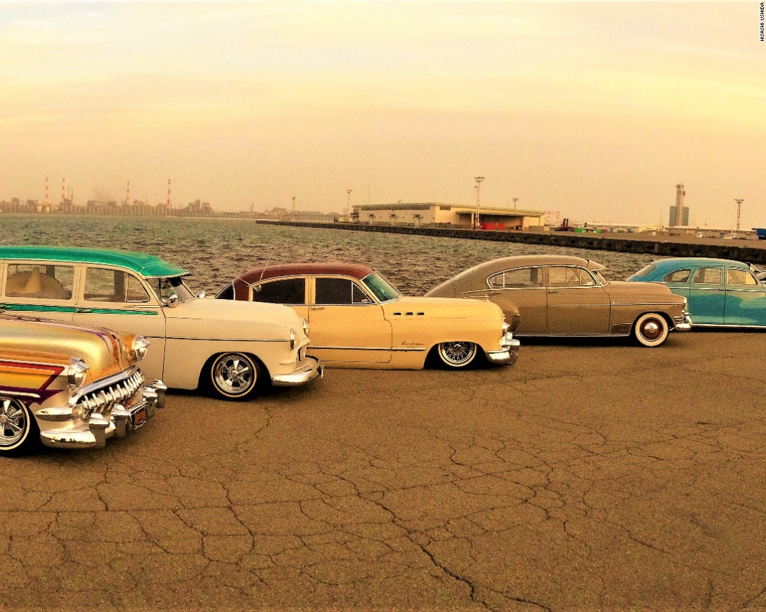 Meet Japans Lowriders Cnn Style 1954 Chevy Impala Lowrider