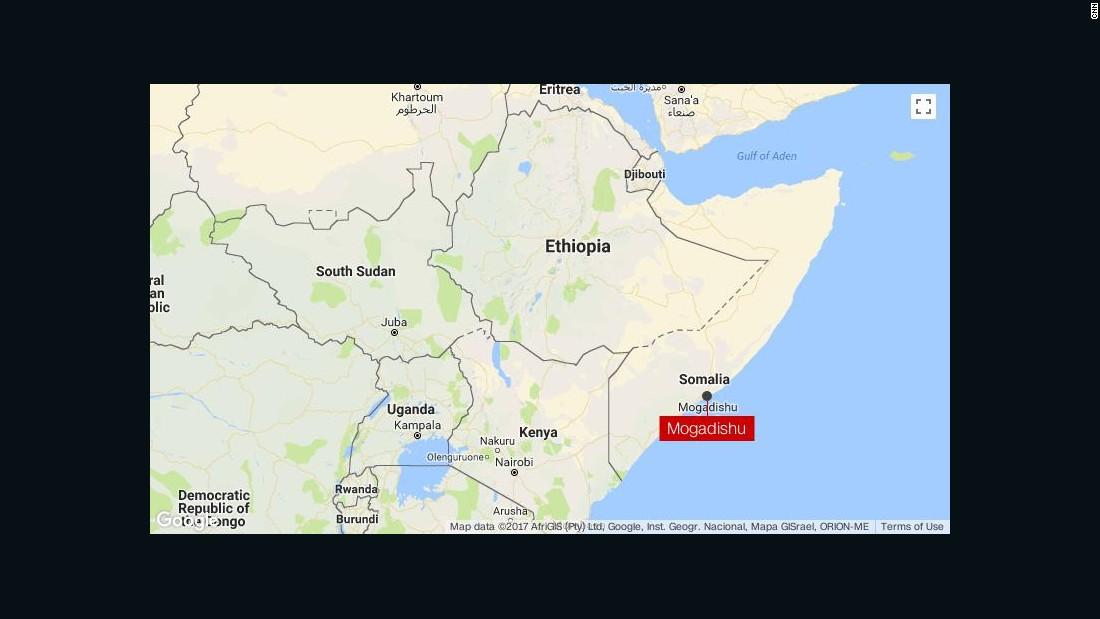 Bombs, gunfight rock Somali capital