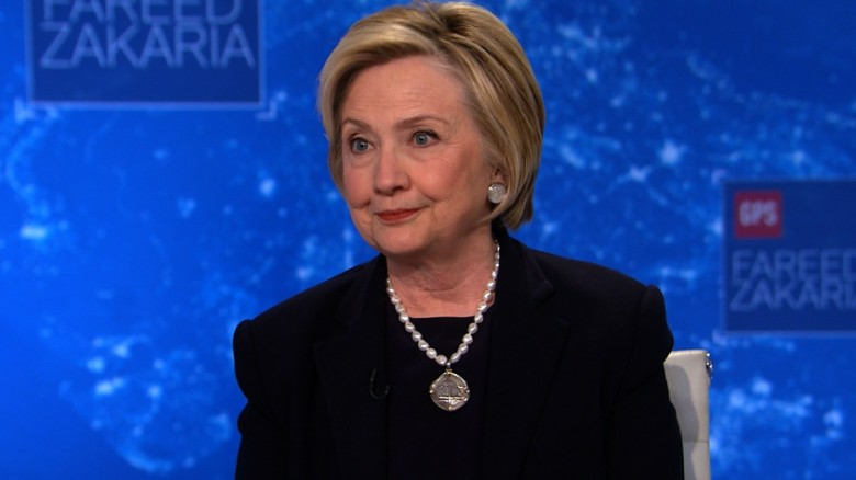 Hillary Clinton: Putin isn't done