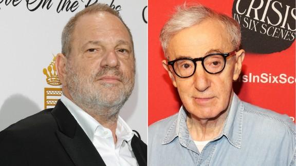 Harvey Weinstein and Woody Allen