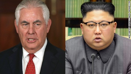 Tillerson says US won't set preconditions for North Korea talks