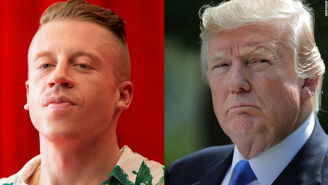 Macklemore takes his anti-Trump message on tour - CNNPolitics