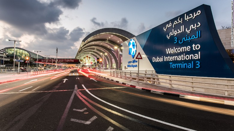Dubai's International Airport is seen in this file photo.