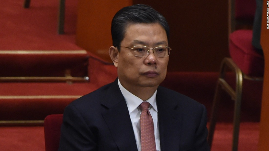 <strong>Zhao Leji</strong>, 60, is the youngest member of the new Standing Committee.