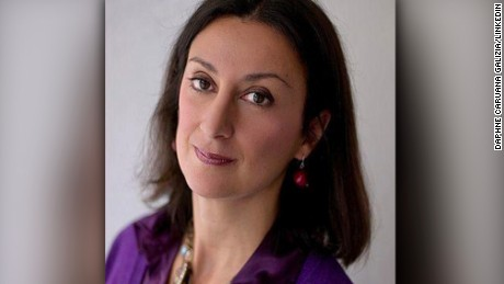 "Daphne Caruana Galizia was described by Politico as a ""a one-woman WikiLeaks."""