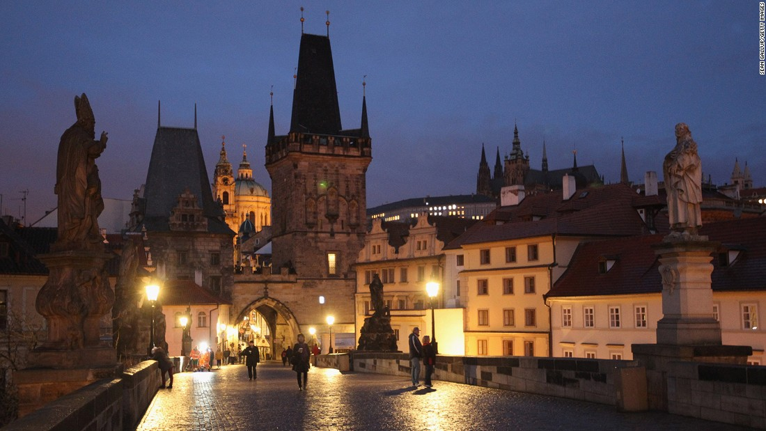 <strong>18. Prague:</strong> The Czech Republic capital ranked as the fifth most visited city in Europe, with 8.5 million visitors expected in 2017.