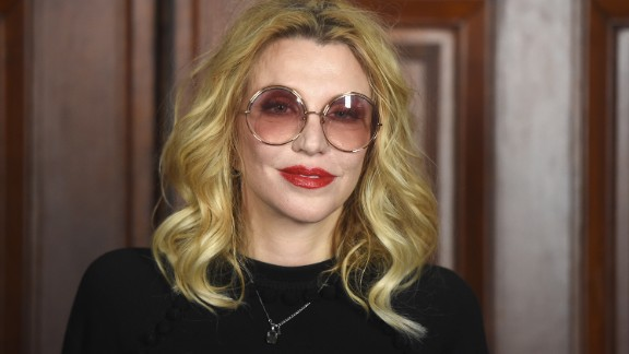 NEW YORK, NY - SEPTEMBER 13:  Courtney Love attends Marc Jacobs SS18 fashion show during New York Fashion Week at Park Avenue Armory on September 13, 2017 in New York City.  (Photo by Jamie McCarthy/Getty Images for Marc Jacobs)