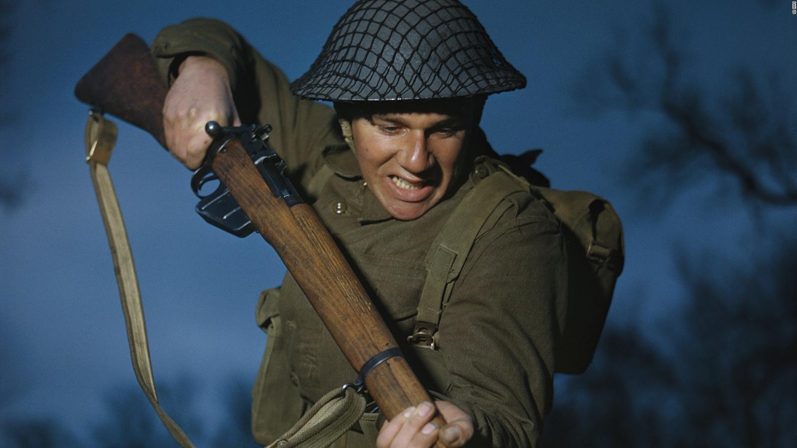 Color Photos Of World War Ii Cast New Light On The War Cnn Style
