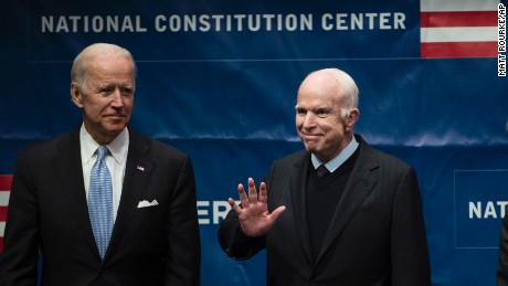 Sen. John McCain warns against 'spurious nationalism' in Liberty Medal speech