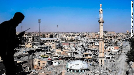 ISIS defeated in Raqqa as 'major military operations' declared over